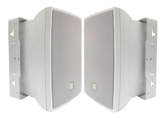Caixa Som Ambiente Jbl Selenium C321 Par Branco C321b 60w