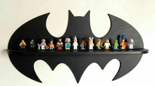 Nicho / Prateleira Mdf Batman Parede Infantil Decorativa