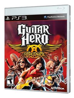 Juego Ps3 Guitar Hero Aerosmith Ps3