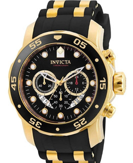 6981 Para Hombrepro Diver Análogo Reloj Suizo Cronógrafo Po