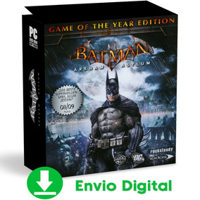 Batman Pc Arkham Asylum + Joker & Prey In The Darkness 2019