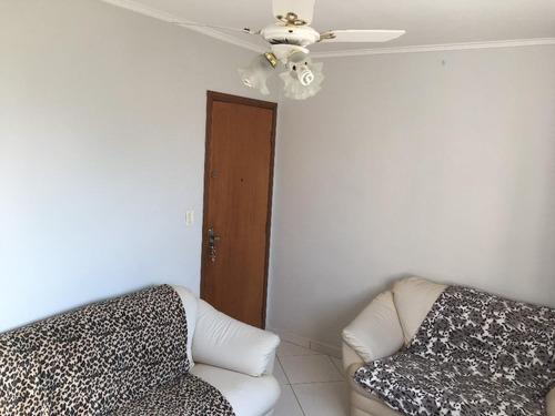 Apartamento Em Vila Nossa Senhora De Fátima, São Vicente/sp De 70m² 2 Quartos À Venda Por R$ 222.000,00 - Ap609119