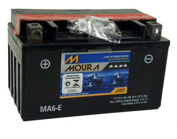 Bateria Moura Ma6-e Kasinsk/crz 150/mirage150/burgman 125