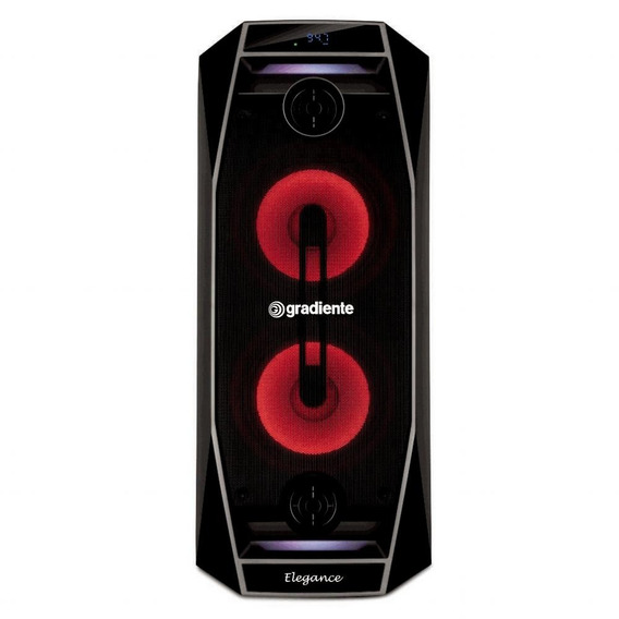 Caixa Amplificada Gradiente, Display Digital, Rádio Fm, Bluetooth® - Gca102 - Bivolt
