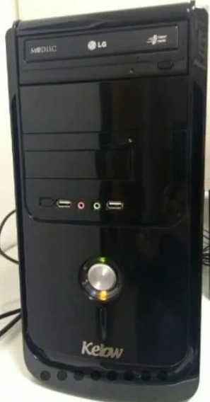 Computador Pc - Hd 320gb Memória 2 Gb