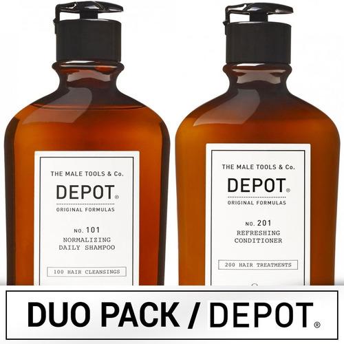 Duo Pack Depot Shampoo No.101 Y Acondicionador No.201