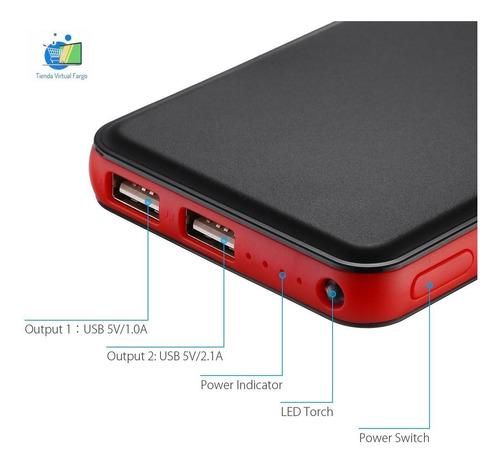 Powerbank 20000 Mah Cargador Batería Externa Power Bank 2usb