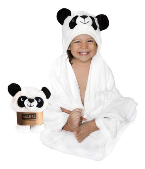 Toalla Para Bebé Fibras Bambú Orgánicas Con Capucha