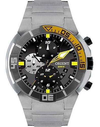 Relógio Orient Masculino Seatech Titânio Mbttc003 P1px