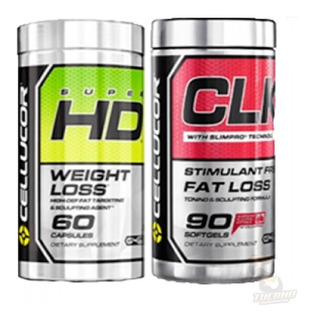 Kit Combo Super Hd + Clk Cellucor - Original Usa Promoção