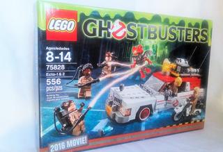 Lego 75828 Ghostbusters Ecto 1 & 2 Con 556 Pz