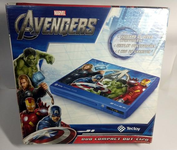 Dvd Player Avengers - Dvt-c170 - Tectoy Raro