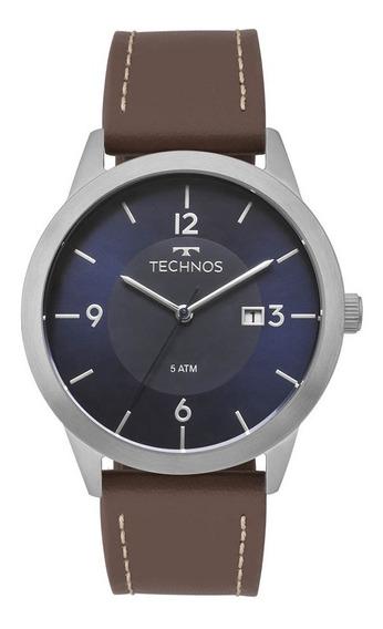 Relógio Technos Masculino Classic 2115mog/0a Original Barato