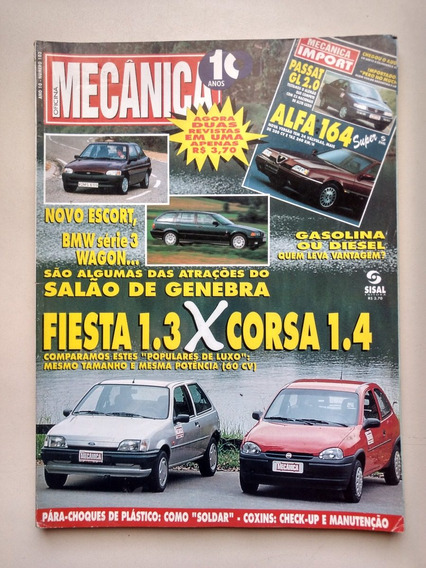 Revista Oficina Mecânica 103 Fiesta Corsa Escort Audi 079