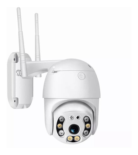 Cámara Seguridad Ip Exterior Wifi 1080p Icsee Domo Ptz 360