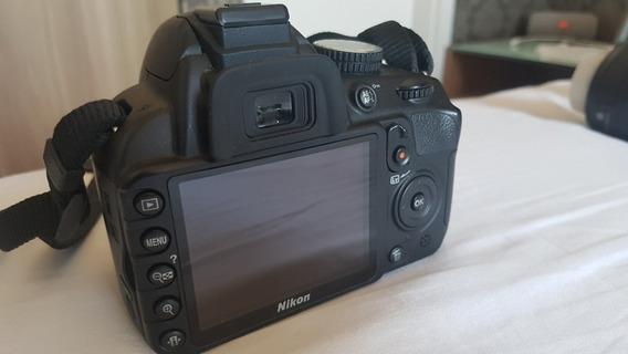 Câmera Nikon D3100 + Lente 55-200mm