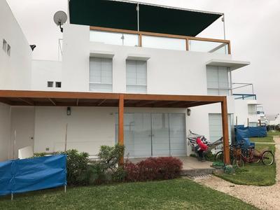 Vendo Casa De Playa Totalmente Amoblada