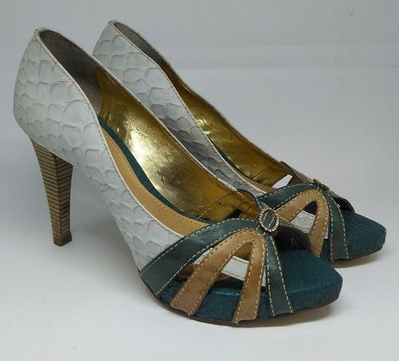Sapato Social De Salto Alto Luxo 37 Dumond