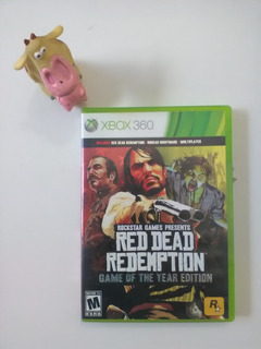 Red Dead Redemption Game Of The Year Edition Xbox 360