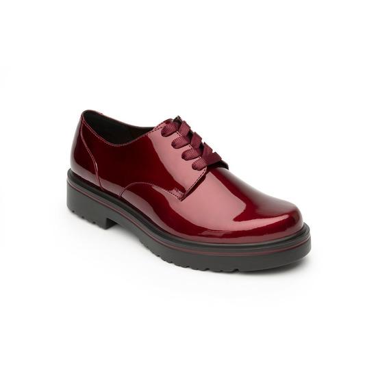 Zapato Flexi Dama 32901 Negro Vino Azul Casual