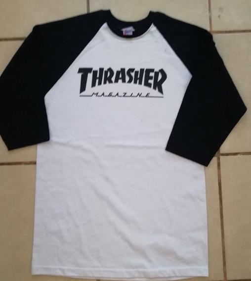 Thrasher Playeras Tres Cuartos Todas Las Tallas