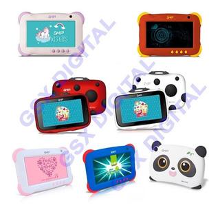 Tablet Ghia Kids Uso Rudo Azul Rosa Unicornio Panda Catarina