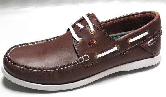 Zapatos Hombre Nautico Cordon Cuero 39 Al 45 Korek 951