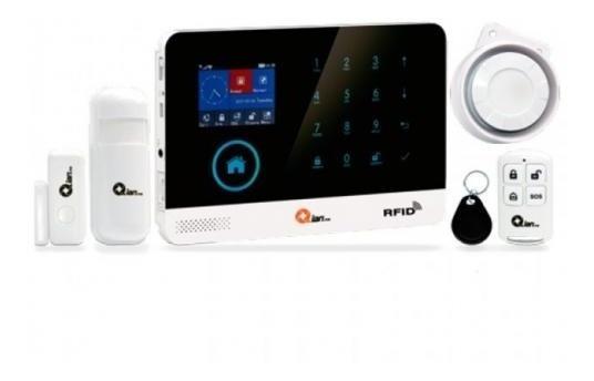 Alarma Integral Qian Inalambrica Panel Central Control Remoto Control Remoto Sensor Puerta-ventana (ss5500)