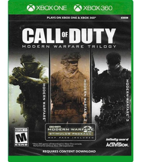 Call Of Duty Modern Warfare Trilogy 3 En 1 Fisico Nuevo Xbox