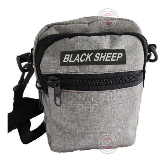 Shoulder Bag Preta E Colorid Black Sheep Original - Escolha