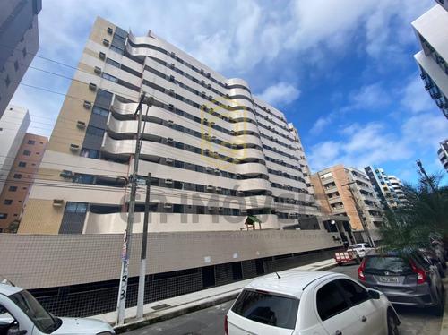 Imagem 1 de 13 de Apto Nascente C/ Varanda, Mobiliado E Decorado Na Ponta Verde, 2 Quartos, 1 Suíte, Por 490mil! - 1226