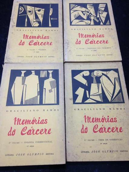 Memórias Do Cárcere - Graciliano Ramos 1954
