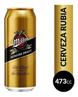 Cerveza Miller Lata 473 Ml Pack X 24 Unidades