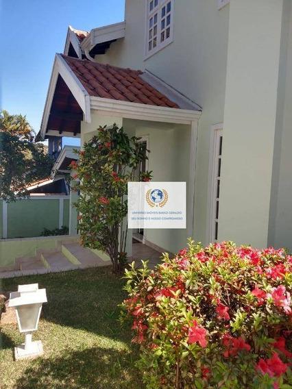 Casa Com 4 Dormitórios À Venda Por R$ 900.000 - Cidade Universitária - Campinas/sp - Ca1195