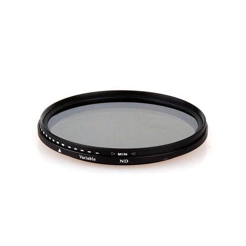 Filtro De Lente Nd Variável 12 Camadas Greika 49mm