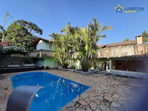 Casa Com 4 Dormitórios À Venda, 550 M² Por R$ 750.000,00 - Parque Rio Abaixo - Atibaia/sp - Ca1105