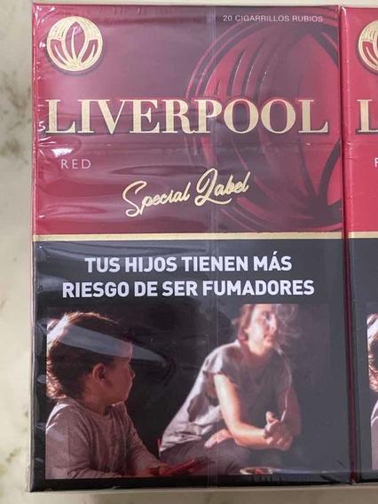 Cigarrillos Liverpool Special Label Pack Por 10 Atados