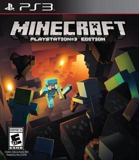 Minecraft Ps3 Fisico Sellado Original Juego Nuevo Sevengamer