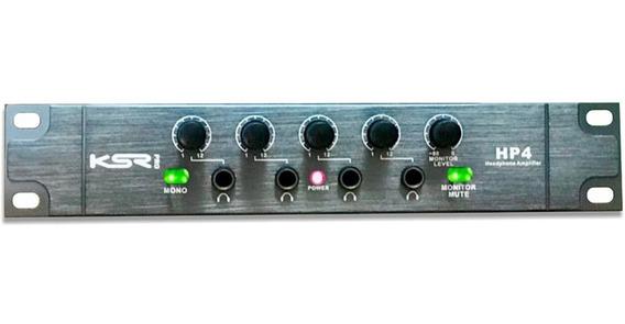 Amplificador Fones Ksr Pro Hp4 Powerplay Pronta Entrega Full