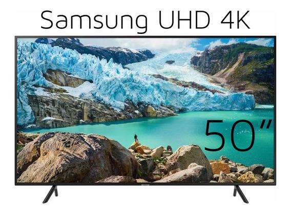 Televisor Samsung 50 Pulgada 2019 Ru7100 Smart Tv 4k Netflix