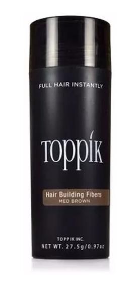 Toppik Hair 27,5g 8 Cores Maquiagem Calvíce Fibras Keratina
