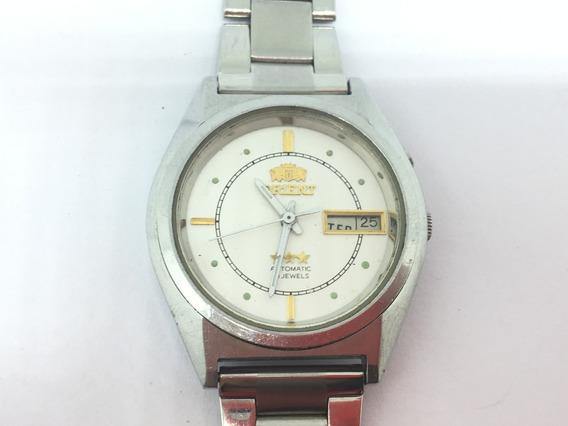Relógio Antigo Orient 3 Estrelas 21 Jewels Automático Zfm195