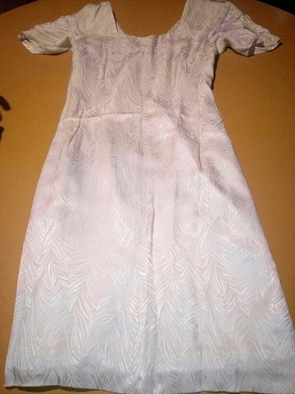 Vestido De Seda Antiguo