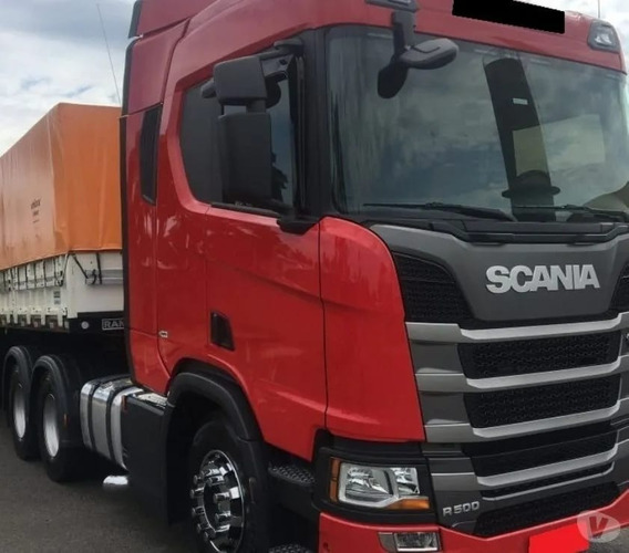 Scania R-500 6x2 2019 Com Bi Trem Parcelado