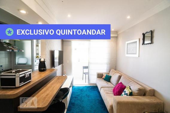 Apartamento No 14º Andar Mobiliado Com 1 Dormitório E 1 Garagem - Id: 892931864 - 231864