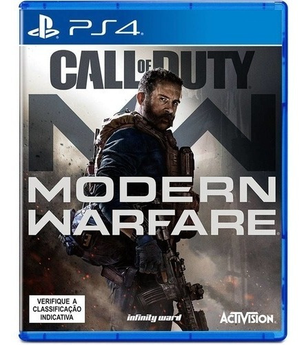 Call Of Duty Modern Warfare Ps4 Mídia Física  Portugues Novo