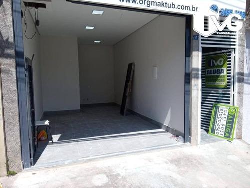 Imagem 1 de 12 de Salão Para Alugar, 22 M² Por R$ 1.500,00/mês - Jardim Vila Galvão - Guarulhos/sp - Sl0145