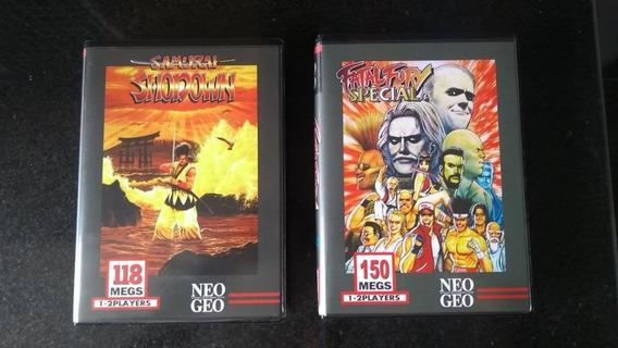 Samurai 1 E Fatal Fury Special Neo Geo Aes