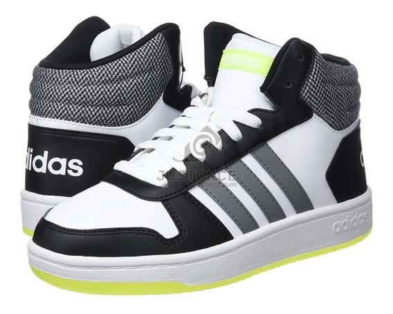 Tenis Hoops 2.0 Mid I Ftwr Para Niño adidas Original