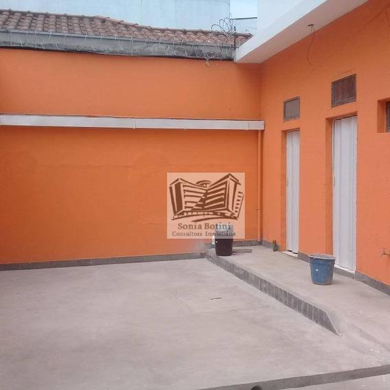 Salão Para Alugar, 220 M² Por R$ 4.500/mês - Mooca - São Paulo/sp - Sl0033